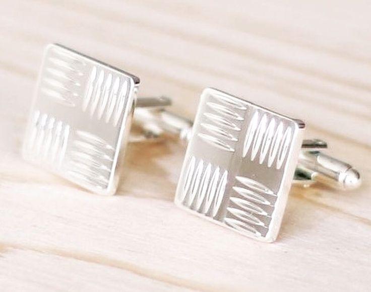 Silver Cufflinks design by Manschettbutiken - #menswear manschettknappar