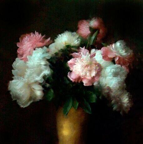 """Obraz olejny """"Kwiatki"""" - Statkiewych-Gallery - Obrazy z mozaiki"""