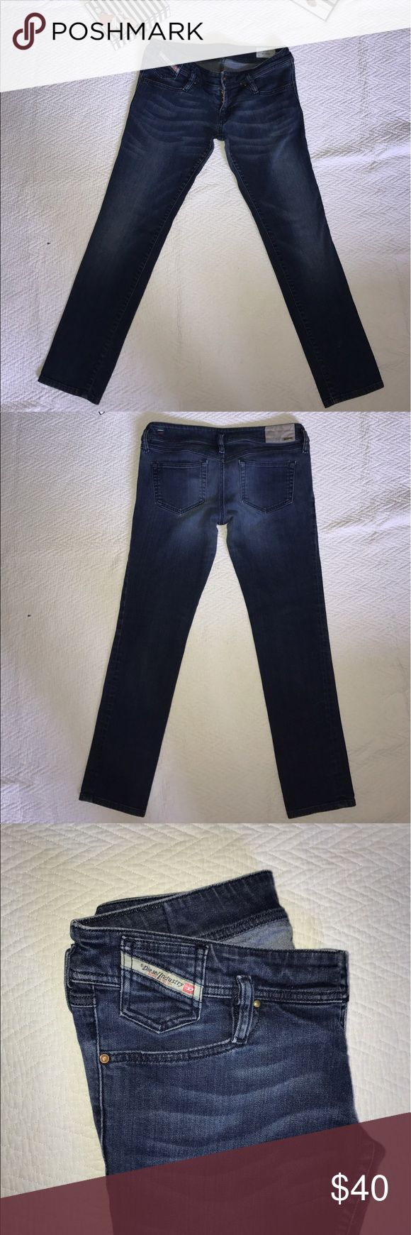 Diesel Industry Denim Jeans Dark wash Diesel brand jeans! Matic style, a Women's 31 and Length of 32! New without tags!! Diesel Jeans Straight Leg