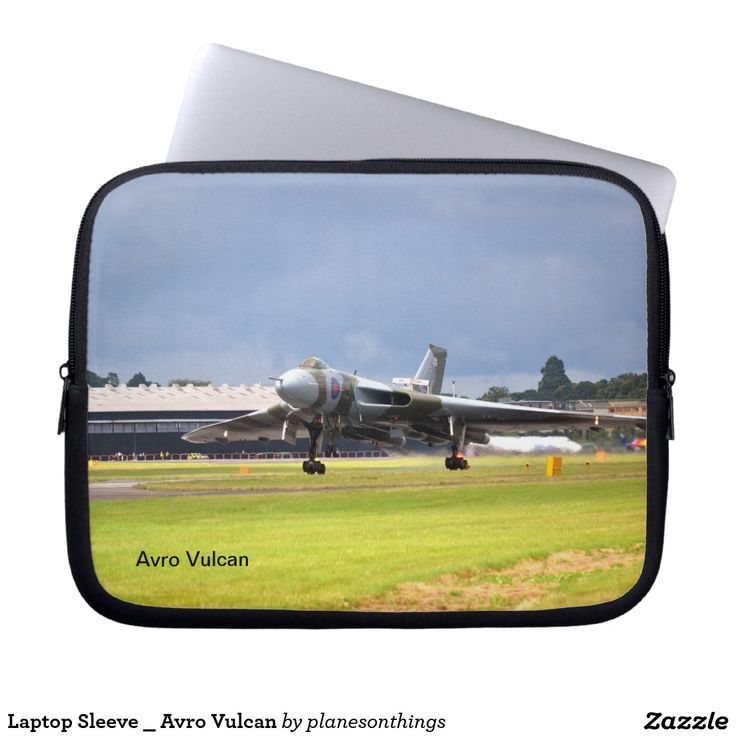 Laptop Sleeve _ Avro Vulcan
