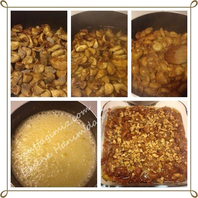 şekersiz incir tatlısı tarifi | Mutfağımız