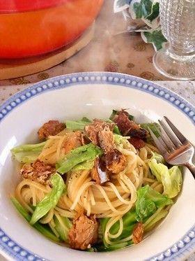 食感と甘みが味わえる♪キャベツを使ったパスタ料理レシピ☆|Taspy ... キャベツとさば缶のパスタ