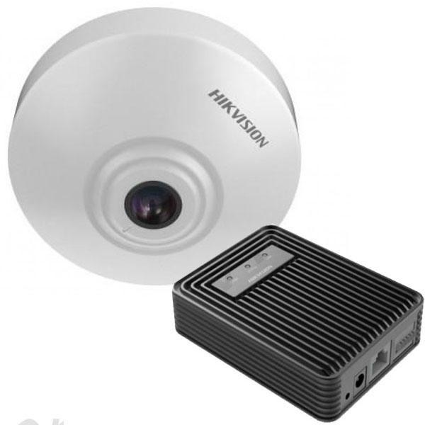 Cámara IP IDS-2CD6412FWD/C permite el conteo de personas que pasan por zonas o…