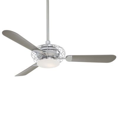 Acero Ceiling Fan with Light by Minka Aire-porch