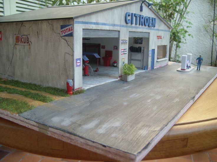 Les 93 meilleures images du tableau dioramas de thierry for Garage citroen avignon mistral 7