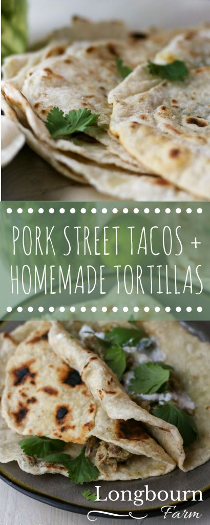 This pork street taco recipe is a breeze to put together, packed with flavor, and a fresh variation on traditional tacos. Homemade tortillas seal the deal!