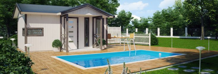 attefallshus med pool - Sök på Google