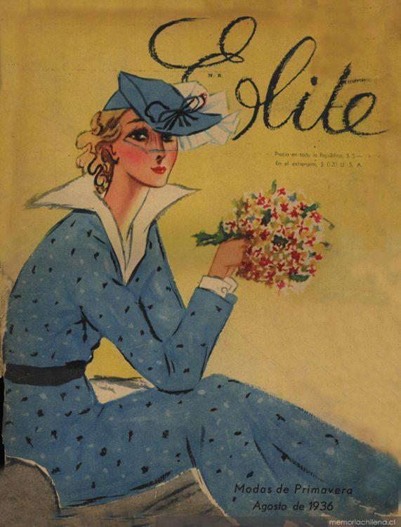 Elite, no. 1, agosto 1936