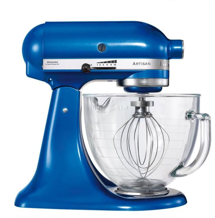 Medium image of kitchenaid ksm156 5 qt  4 7 liters artisan stand mixer 220 volts export only