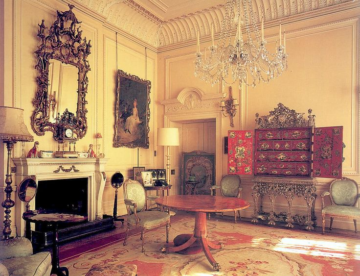 Clarence House Second Floor Small Drawing Room when the Queen Mothers lived there.