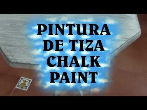 Como Hacer Pintura De Tiza, Chalk Paint Casera - HOW TO MAKE CHALK PAINT…
