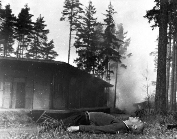 Polish Jew shot by retreating germans in 1944 The End