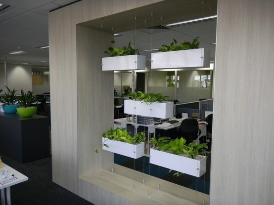 Hanging Green Wall. Who wants one of these in their office? Pick me! see more at www.greendesign.com.au