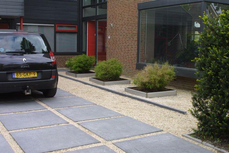 Oprit goedkope sierbestrating bestrating if we built a house exterior pinterest - Oprit idee ...