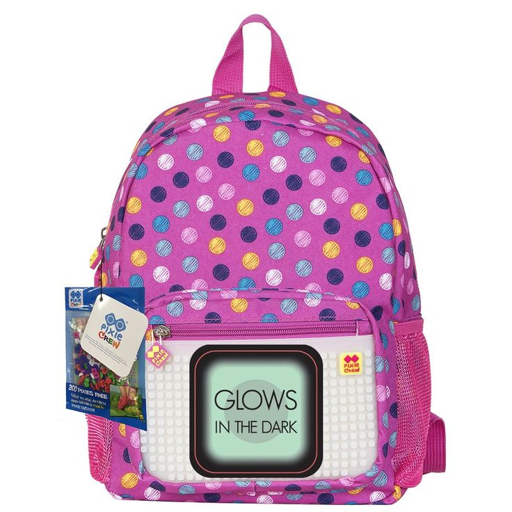 PIXIE CREW Kid´s Backpack BUBBLEGUMS/GLOW IN THE DARK