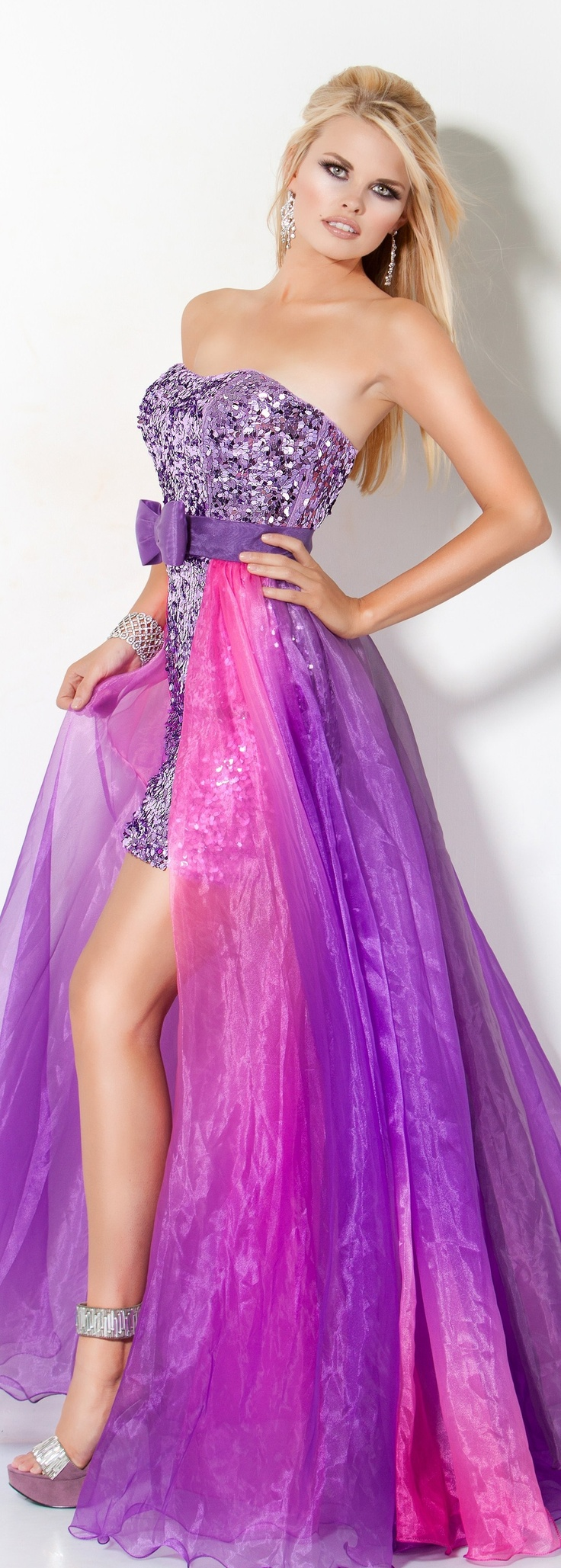 218 best Vestidos de noche images on Pinterest | Party outfits ...