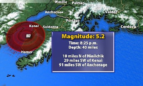 4 earthquakes hit Alaska in less than 48 hours