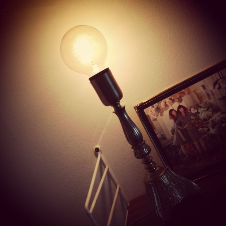 Vackra glödlampan!