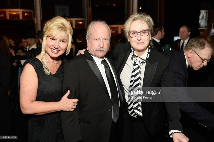 Svetlana Erokhin, actors Richard Dreyfuss, and Meryl Streep during American Film Institute's 45th Life Achievement Award Gala Tribute to Diane Keaton at Dolby Theatre on June 8, 2017 in Hollywood, California. 26658_004