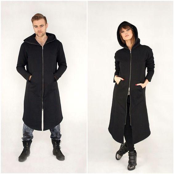 Płaszcz EXPRES czarny UNISEX