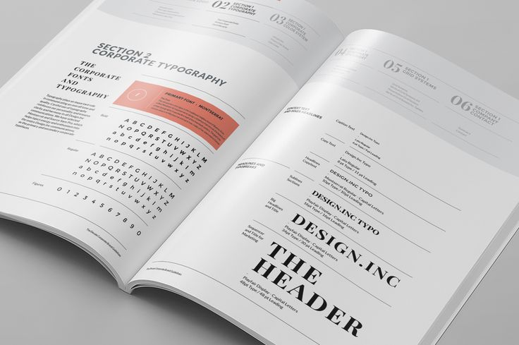 Brand Manual by Egotype on Creative Market
