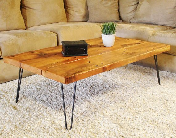 Coffee Table Reclaimed Wood Coffee Table by SilverRidgeWoodworks