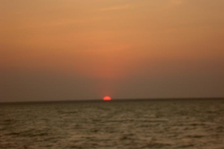 Sunset on Mindil Beach, Darwin, Australia
