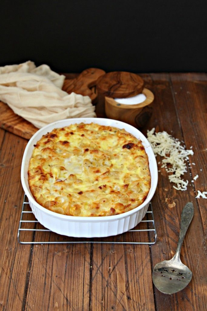 Baked Macaroni and Cheese. The perfect accompaniment to your Thanksgiving table.
