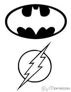 Super hero templates!!! Barrett can make these!!