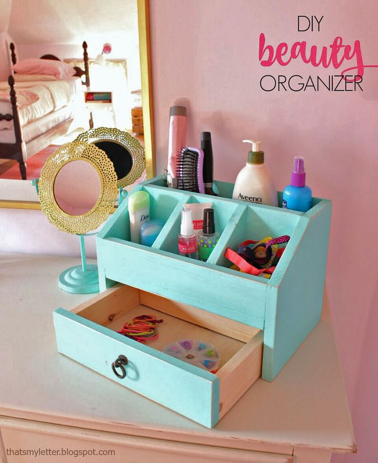 Ana White | Build a Desktop Office or Vanity Beauty Organizer | Free and Easy DIY Project and Furniture Plans
