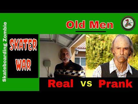 Old Men Skateboarder: Real Man vs Prank Man (Compare)   Skateboarding War Skateboarding War   Old Men Skateboarder: Real Man vs Prank Man (Compare) Real Man vs Prank Man (Compare) Video ====================================================== Information: This video is compare real old man and prank old man in skateboarding. Who is winner in skills. In this video have: poor tricks jump tricks slide tricks Chinese Nollie tricks Biebelheimer tricks Nollie Shove It tricks Boneless tricks Fakie…