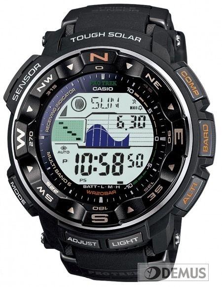 PRW-2500-1ER, Casio Pro trek, sportowy #zegarek z wysokościomierzem, kompasem i termometrem : Demus.pl