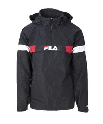 FILA FILA MEN S 682360BLACK BLACK POLYESTER OUTERWEAR JACKET.  fila  cloth 38722cbf7ab5d
