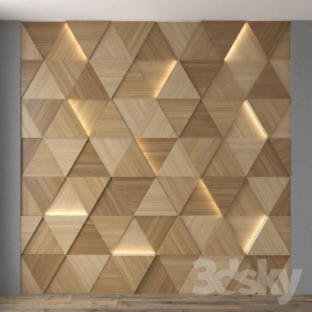 3d Models 3d Panel Wall Panel 14 Wall Decor Design Wooden