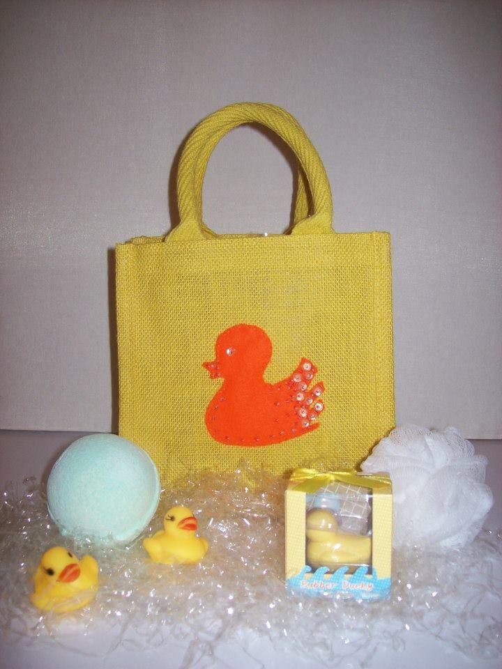 """QUACKER"" Bag                                       Small Luxury Unique Bespoke Hand Embellished Jute Bag."