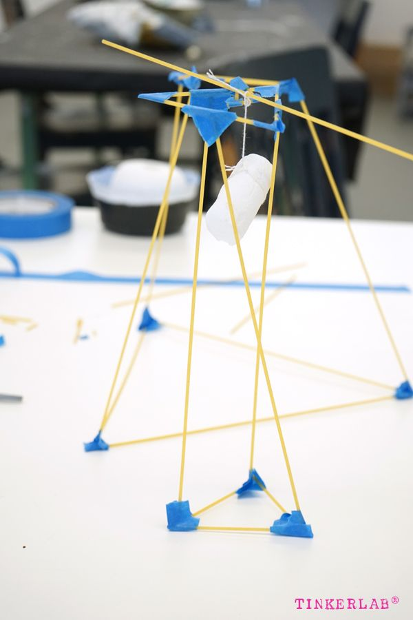 Spaghetti Marshmallow Challenge. This site has lots of great project ideas!!