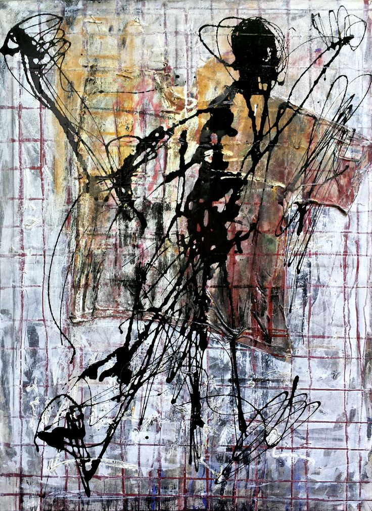 1999, ©Wolfgang Kahle, 100 x 140 cm, mixed media on canvas