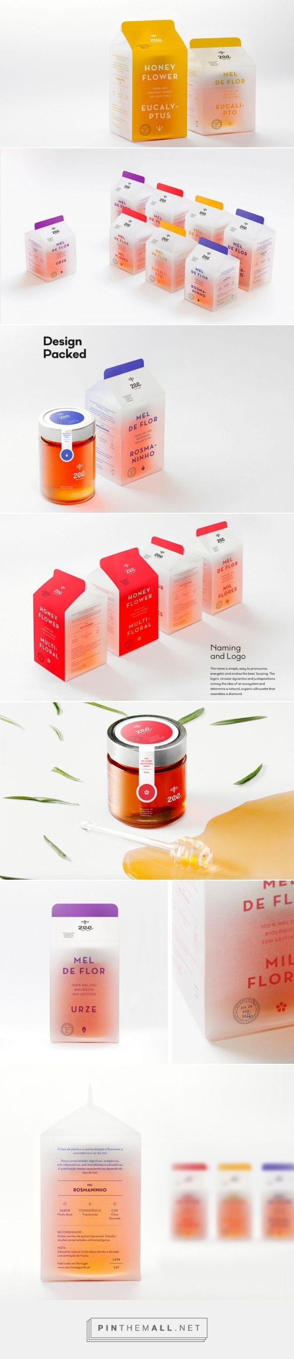 Zee - Honey Goods — The Dieline - Branding & Packaging - created via https://pinthemall.net