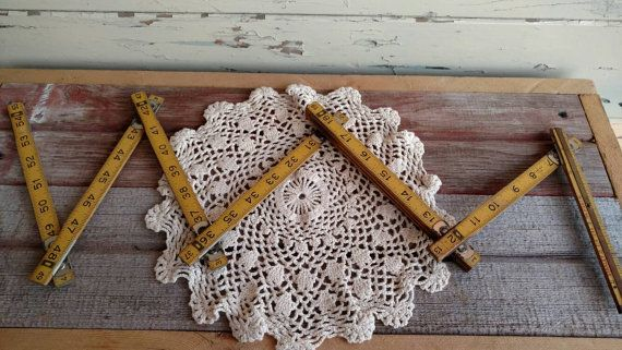 Check out this item in my Etsy shop https://www.etsy.com/listing/230049509/vintage-industrial-wooden-folding-ruler