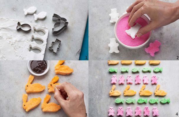 Marshmallow colorido versão DIY - passo a passo (Foto: Divulgação)