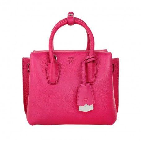MCM Tasche – Milla Tote Mini Beetroot Pink – in pink – Henkeltasche für Damen