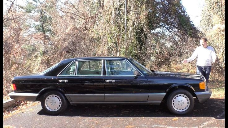 Here's a Tour of a $150,000 Mercedes S-Class ... From 1991 #wysluxury