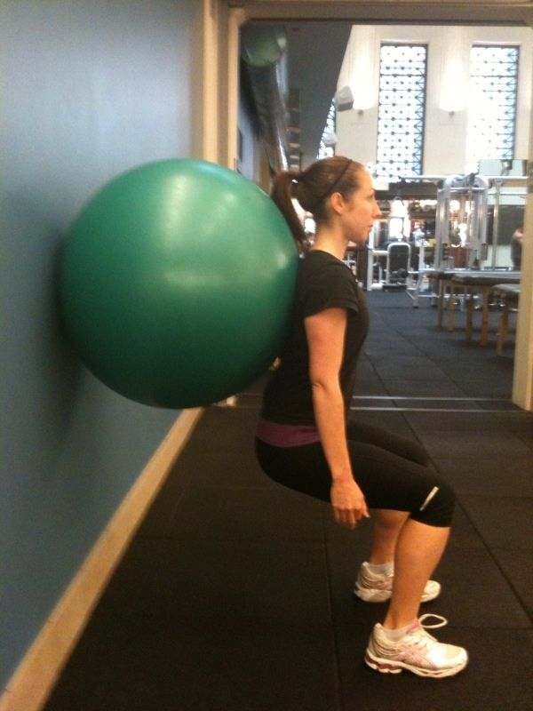 Battle of the Baby Weight: Stability Ball Exercises For Postpartum Moms For tons more stability ball exercises, check out my board exercise: stability board - KCRIK