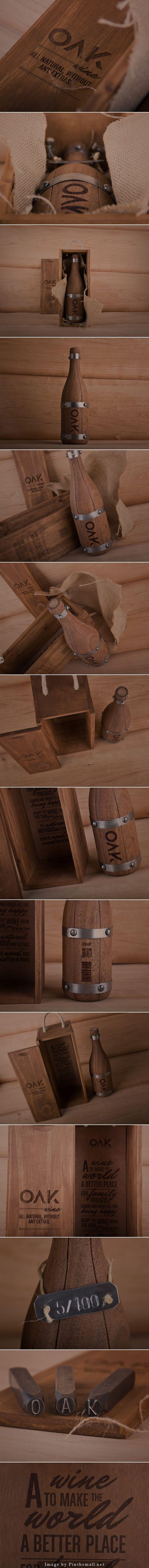 OAK Wine (Concept) Collaboration project: Grantipo & La Despensa Client: OAK wine Location: Madrid / Spain Project Type: Concept
