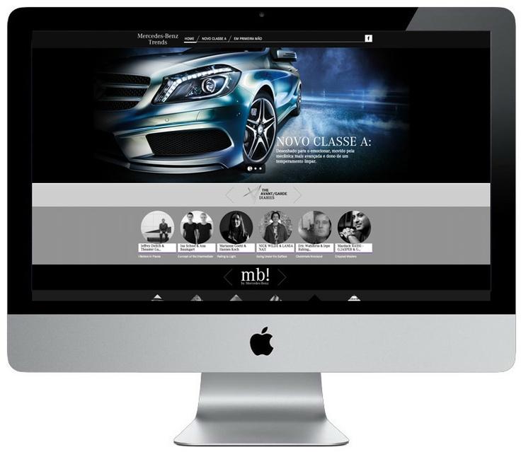 Prémios Sapo 2012 | Categoria: MELHOR MINISITE | Prémio: Ouro | Cliente: Mercedes-Benz | Agência: Proximity_Digital