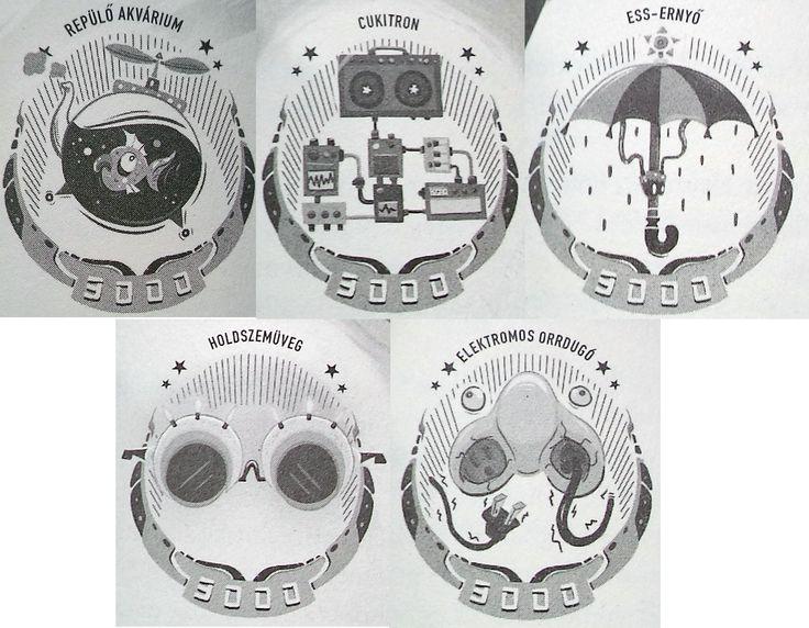 DENKi-3000 találmányok SZTR The CD