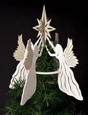sheila landry Heavenly Angel Tree Topper