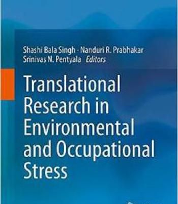 Translational Research In Environmental And Occupational Stress PDF