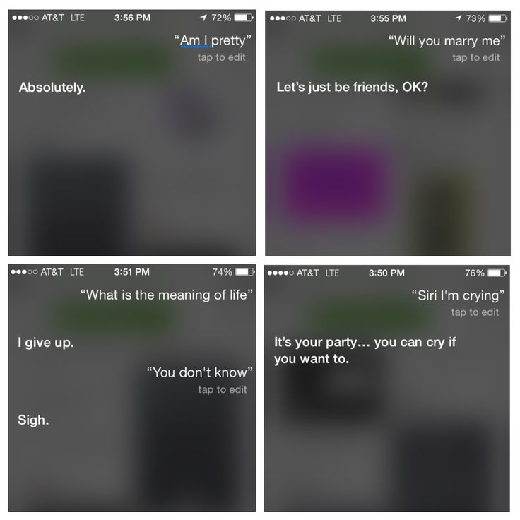 Looked up what to ask Siri, these were some of the best answers I think