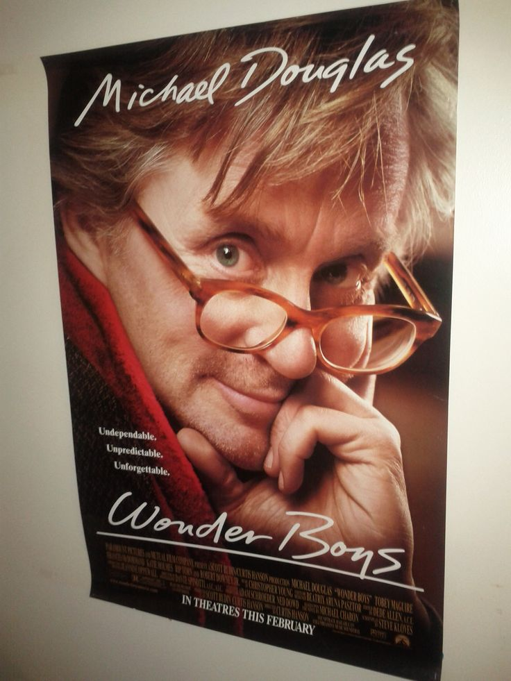 Wonder Boys Poster $21.00 (Plus Shipping and Handling)